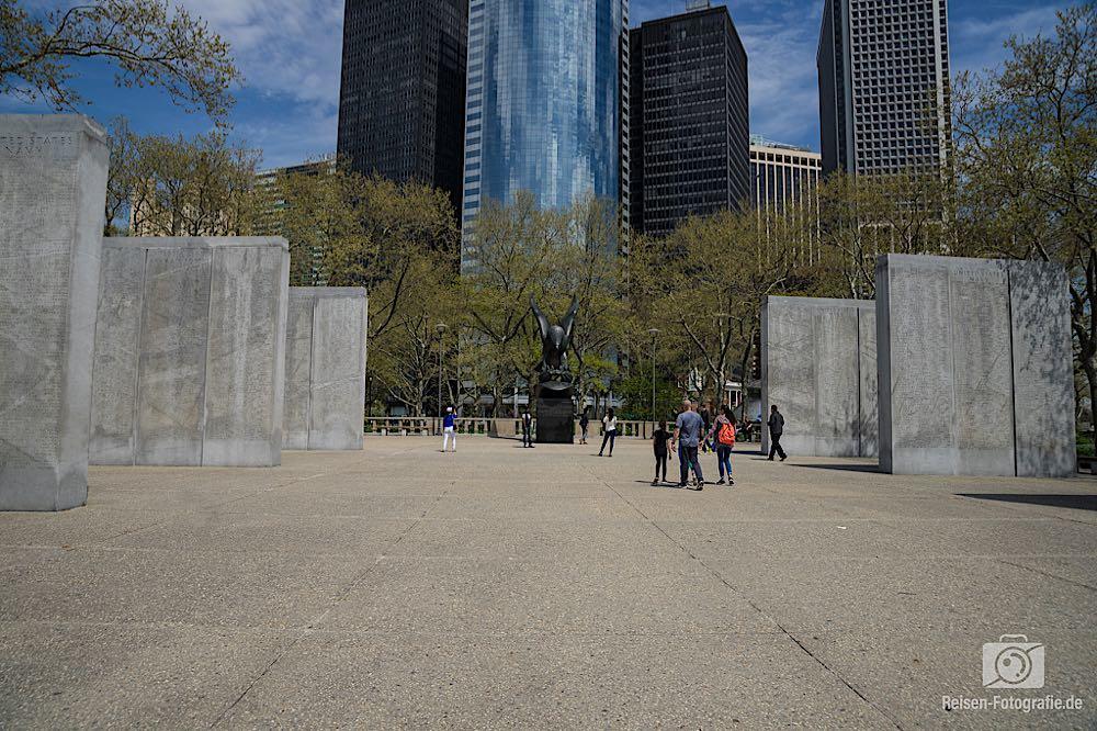 Denkmal im Battery Park