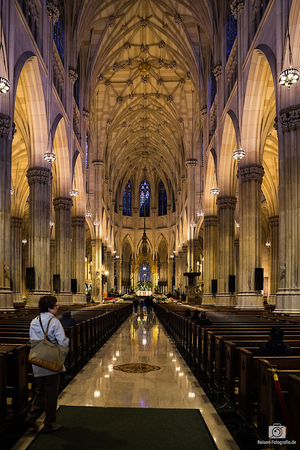 St. Patrick's Cathedral Innen