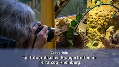 Bloggertreffen im Terra Zoo