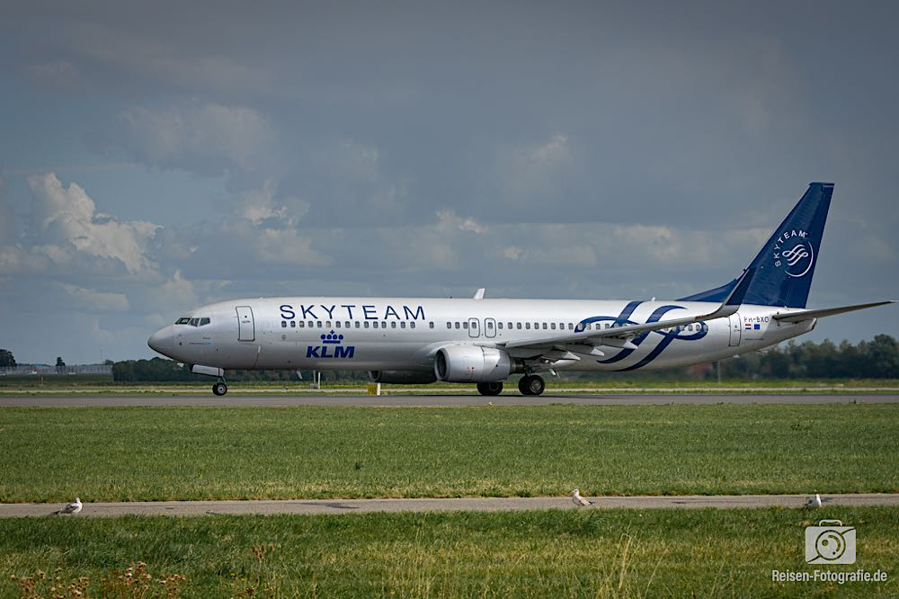 Boeing 737-9K2 - KLM in SkyTeam Lackierung