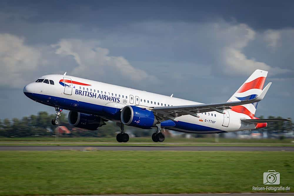 Airbus A320-251N - British Airways