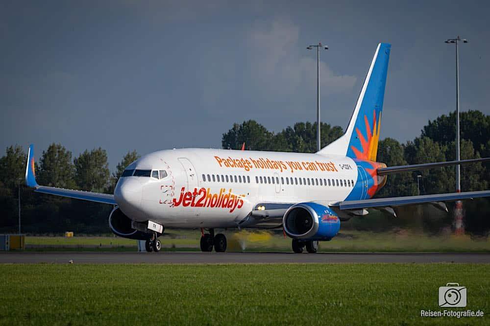 Boeing 737-36N - Jet2 Holidays