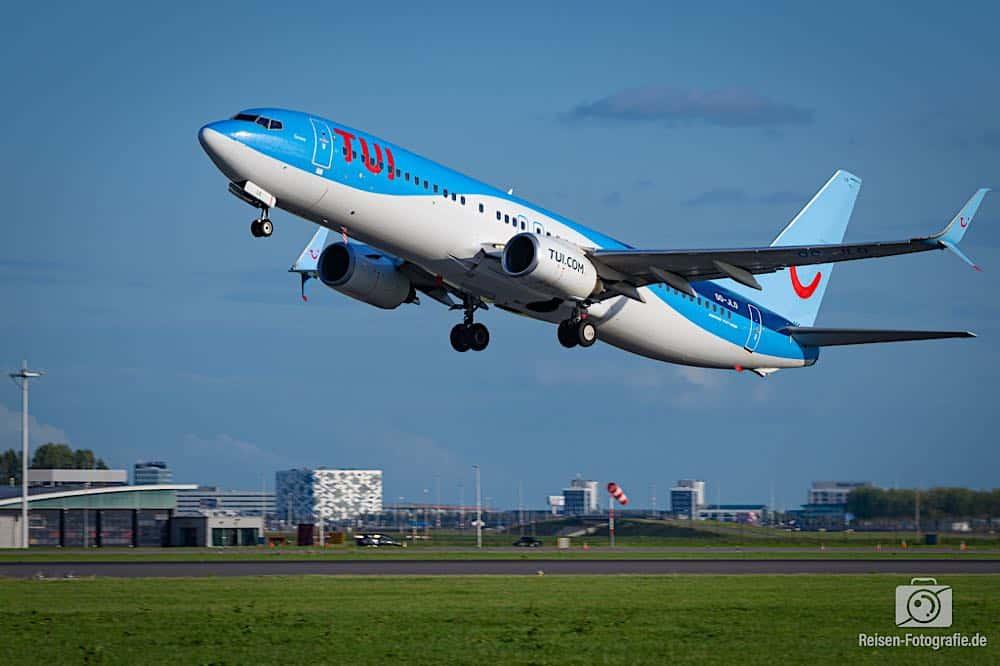 Boeing 737-8K5 - TUI (TUI Airlines Belgium)