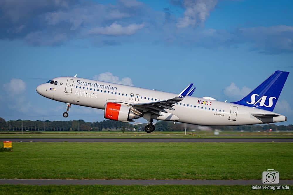 Airbus A320-251N - Scandinavian Airlines - SAS