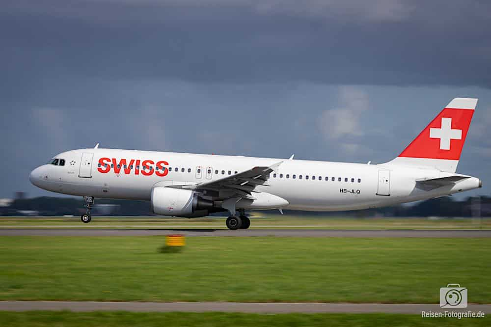 Airbus A320-214 - Swiss International Air Lines