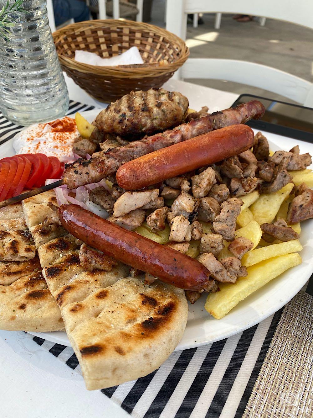 Essen in Kolymbari