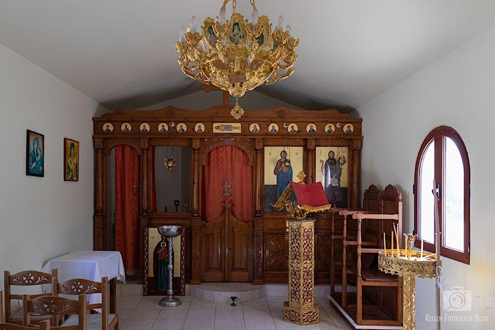 Kleine Kapelle von innen