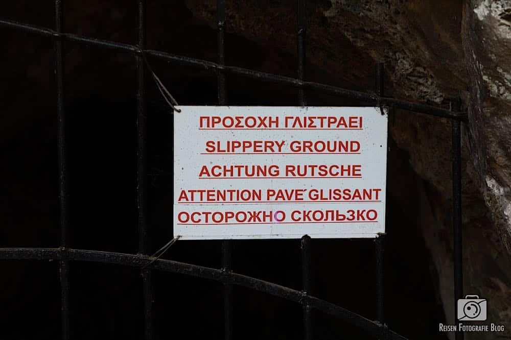 Melidoni Cave Eingang