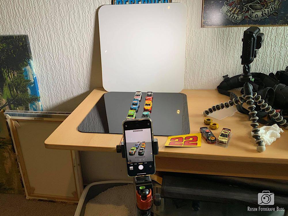 Tabletop - Smartphone - Aufbau
