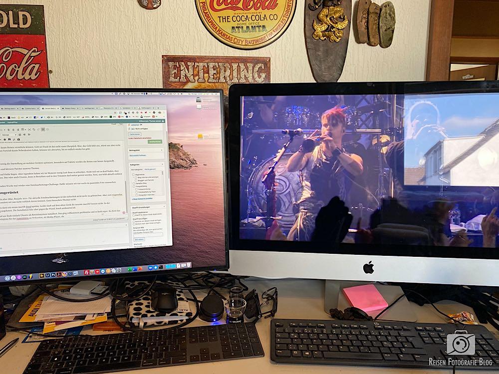 iMac Arbeitsplatz