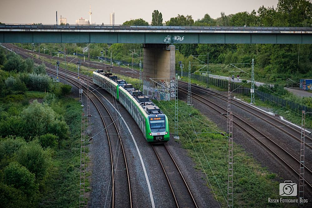 S-Bahn Richtung Mülheim