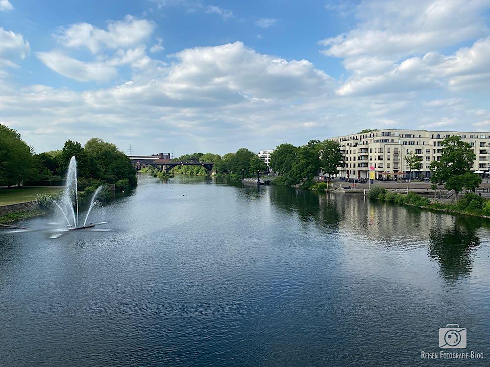 Blick von der Schloßbrücke