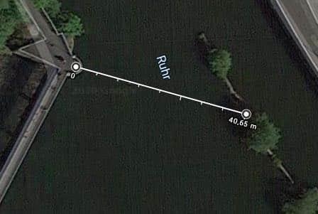 Entfernung Gänse
