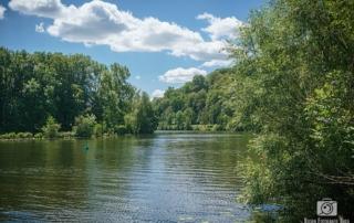 Blick auf die Ruhr zwischen Werden und Kettwig