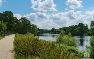Blick auf die Ruhr in Essen-Steele