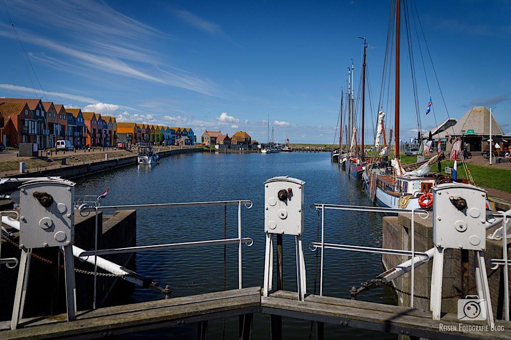 Alte Schleuse - Blick zum Hafen