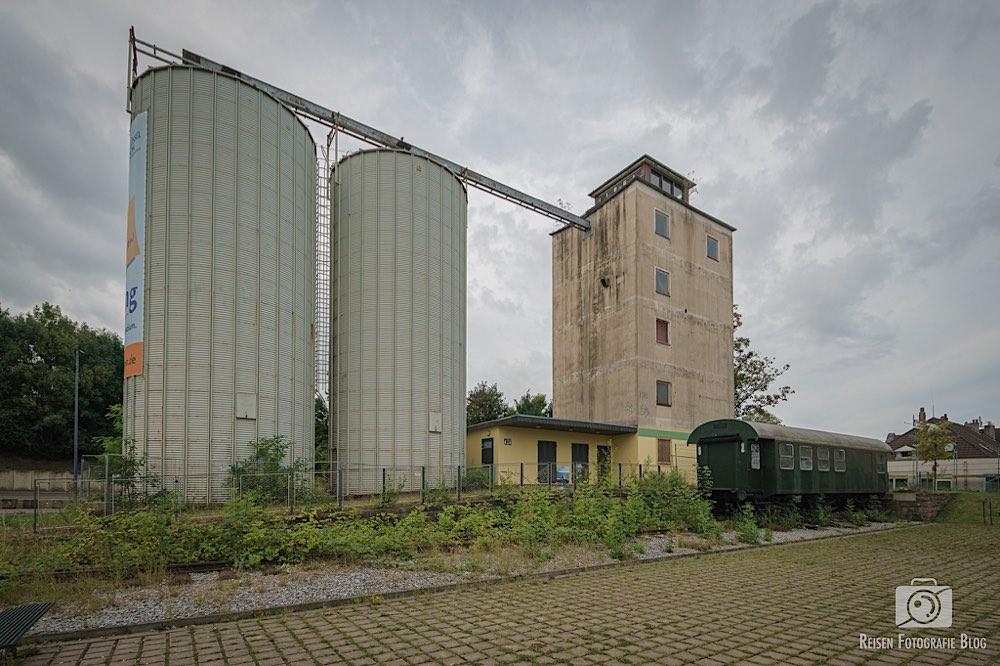 Altes Bahnhofsgelände in Heiligenhaus