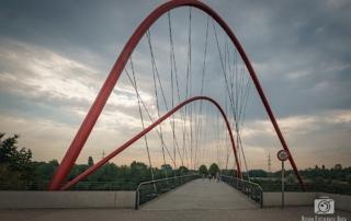 Rad-/Fußgängerbrücke im Nordsternpark