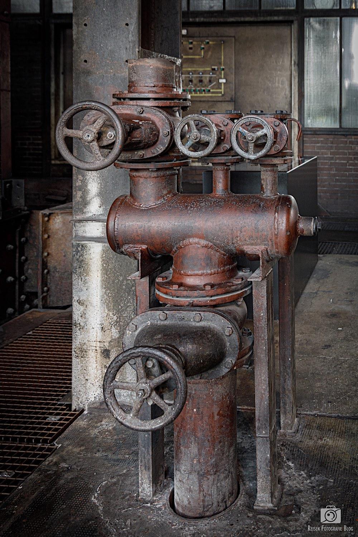 Kohlewäsche Rohre