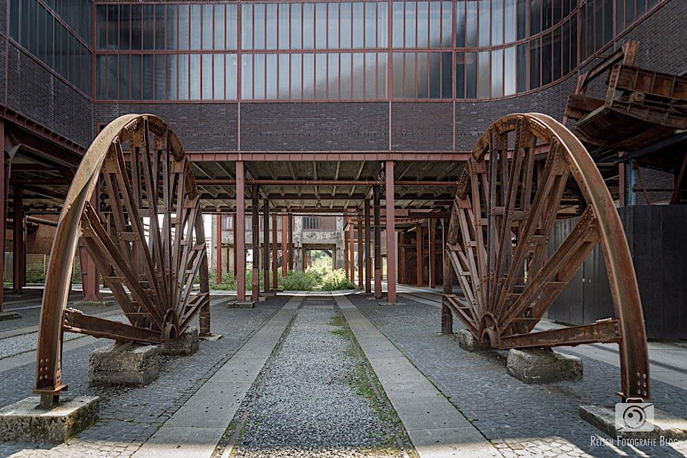Alte Bahnanlagen am Schacht XII