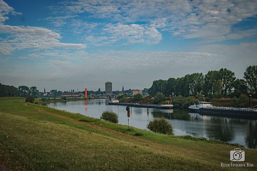 Rheinorange in Sicht