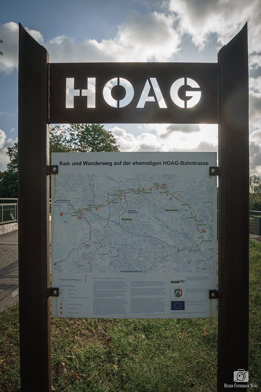 HOAG Radweg Infotafel