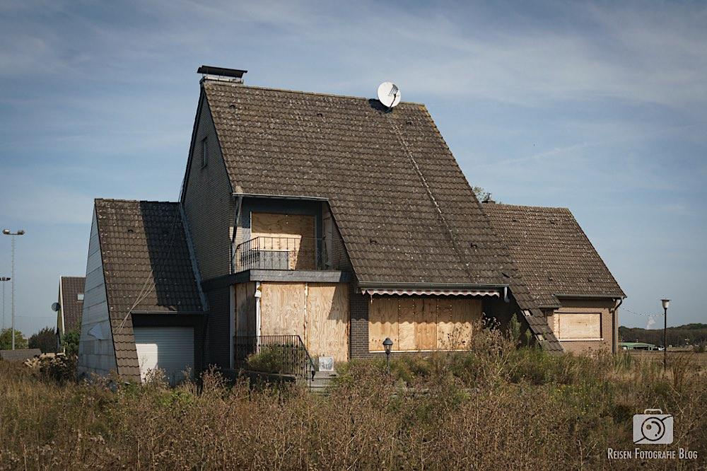 Verlassene Häuser in Morschenich