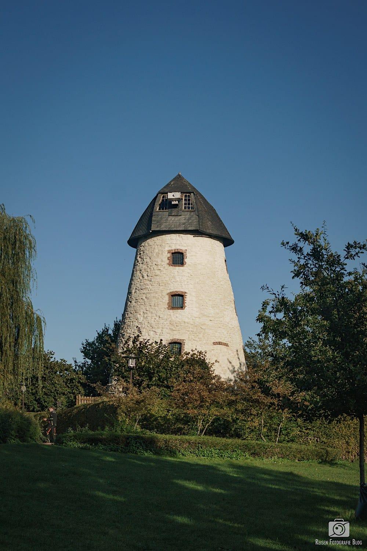 Alte Windmühle in Laer ohne Flügel