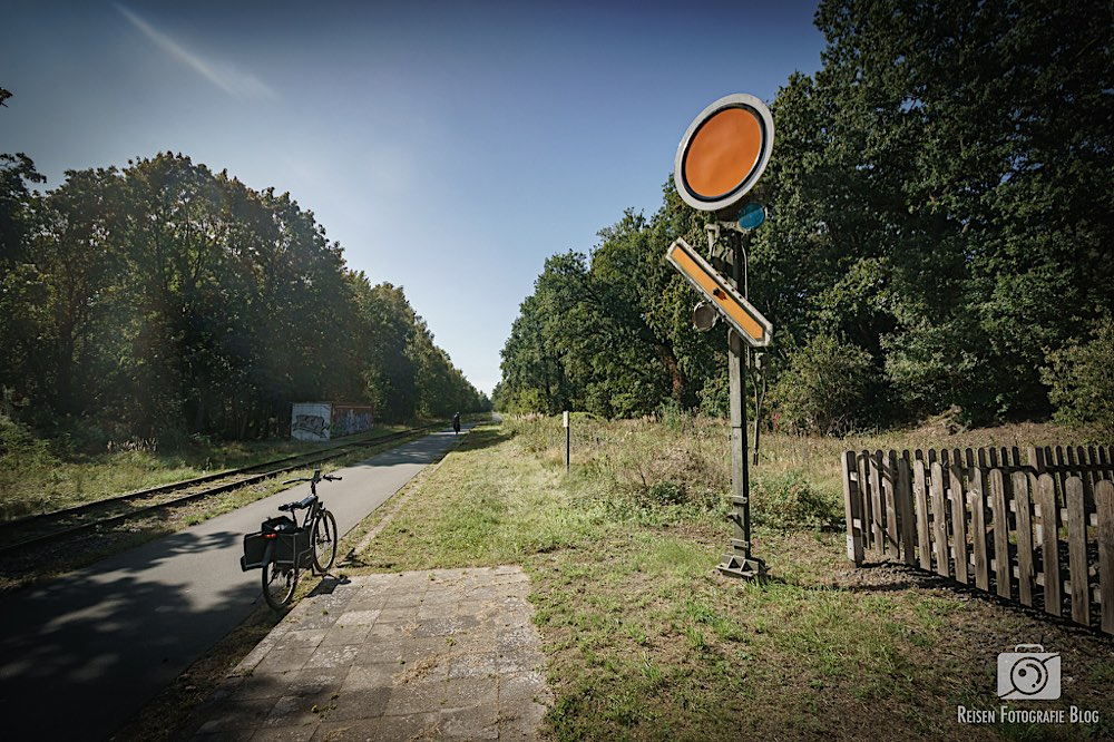 Signal an der Radbahn Münsterland