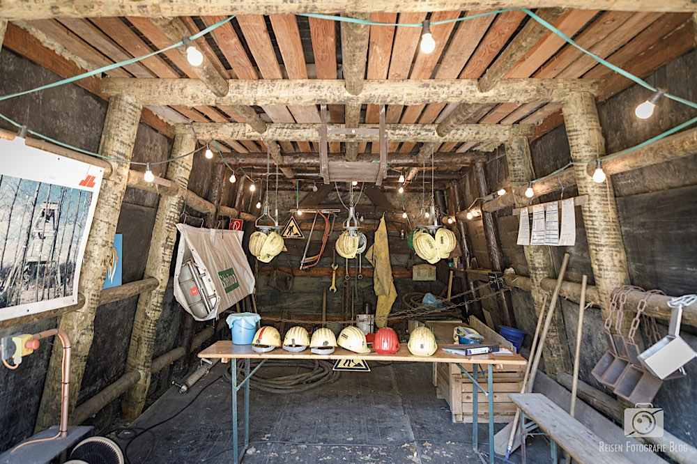 Alte Kaue im Holzschuppen