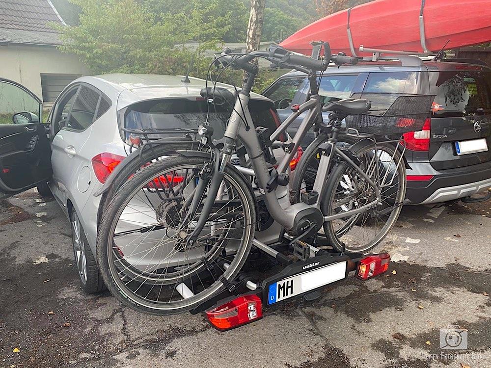 Fahrradträger am Auto
