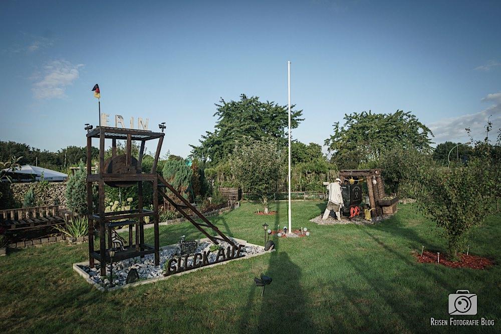 Ruhrpottszene im Kleingarten