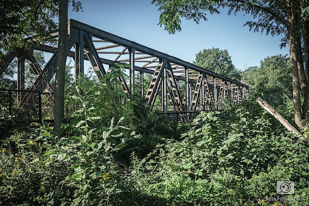 Blumenthal-Trasse Bahnbrücke