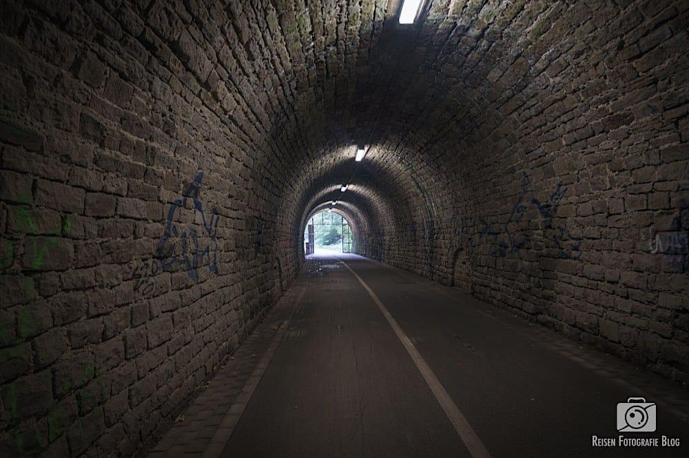 Schulenbergtunnel - Blick zurück