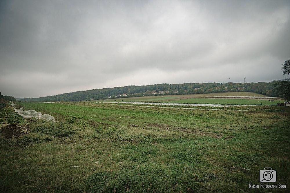 Blick über die Felder vor Albringhausen