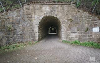 Tunnel zur Bahntrasse in Witten