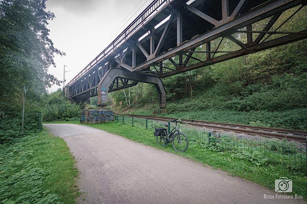Bahntrasse in Witten