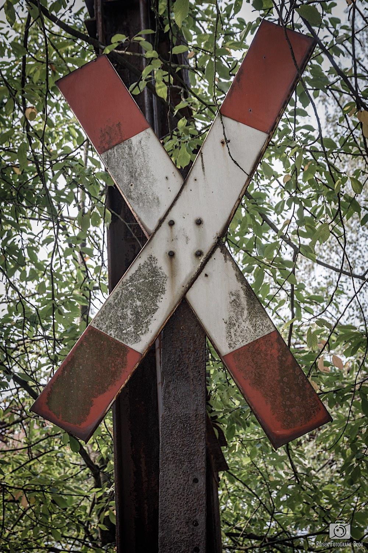 Andreaskreuz im LaPaDu