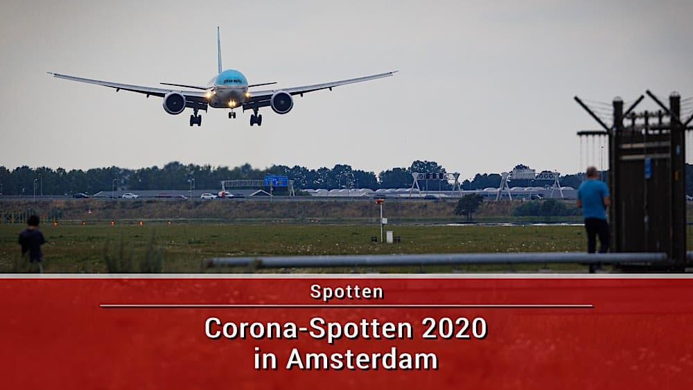 Corona Sommer Spotten in Amsterdam