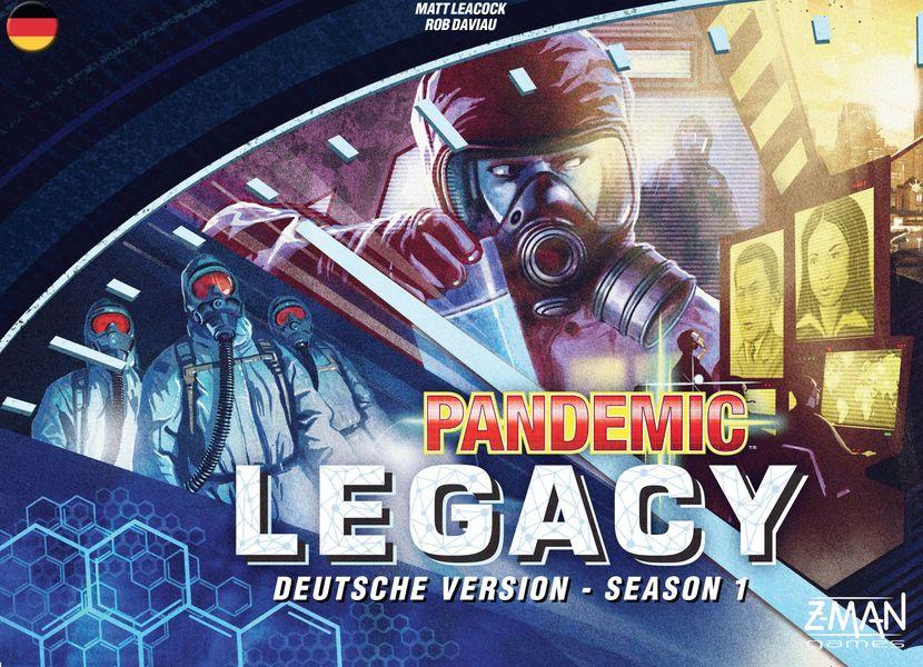Pandemic Legacy Season 1 - Cover