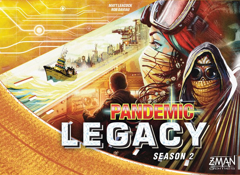 Pandemic Legacy Season 2 - Cover