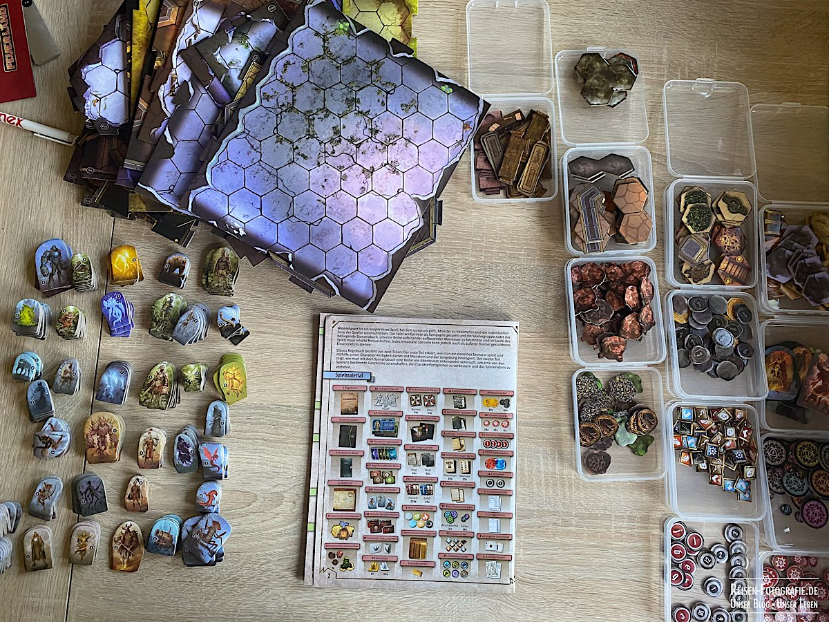Gloomhaven - Material