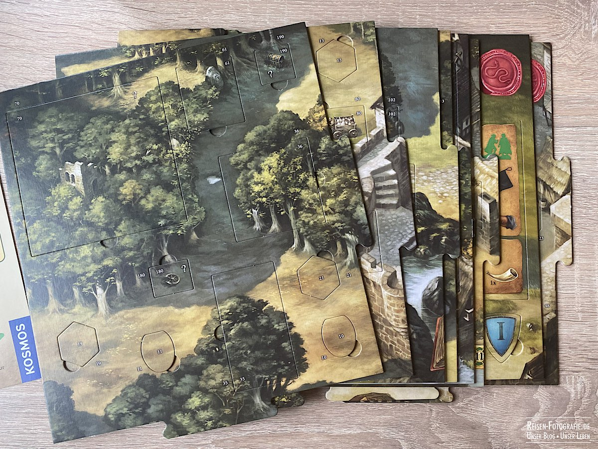 Robin Hood Spielplan Puzzle