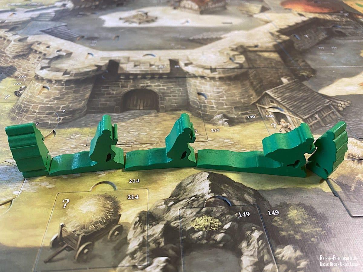 Robin Hood - Bewegung der Spielfiguren
