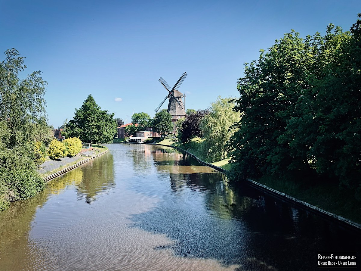 Windmühle in Hinte