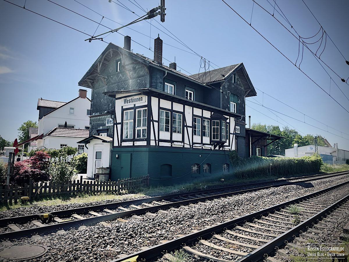 Alter Bahnhof Westönnen