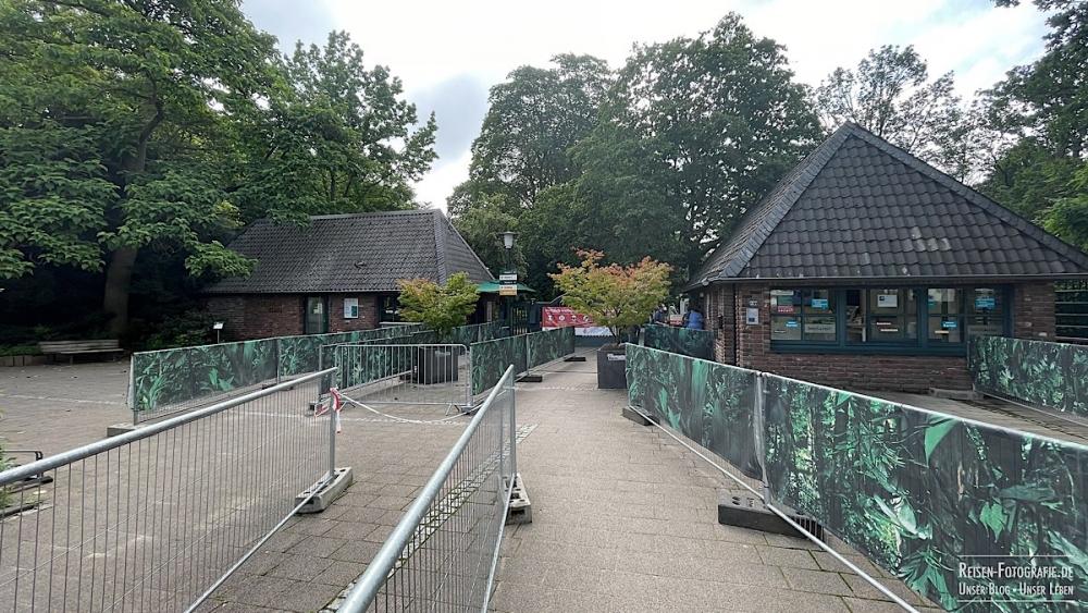 Zoo Krefeld - Eingangsbereich