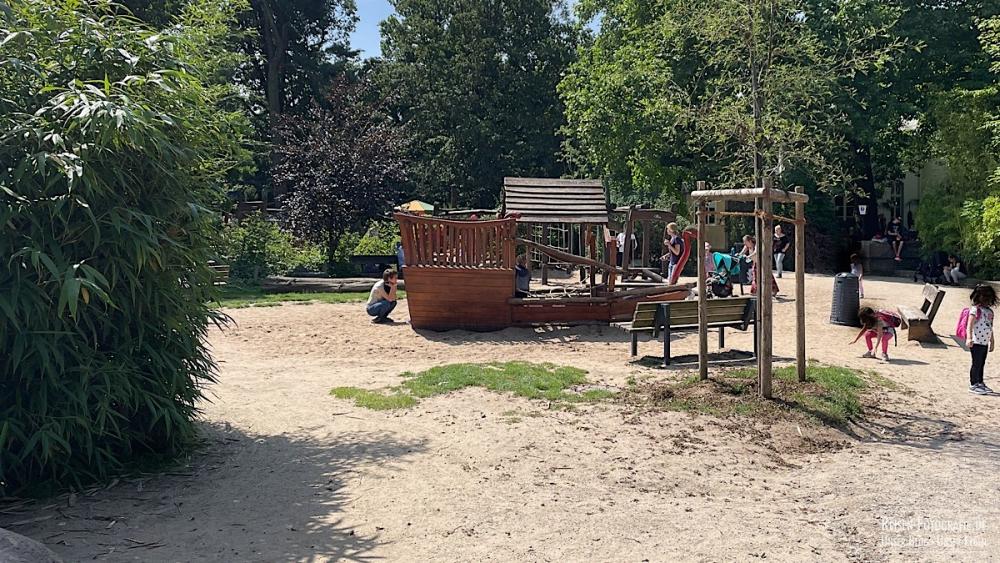 Abenteuer-Spielplatz im Zoo Krefeld