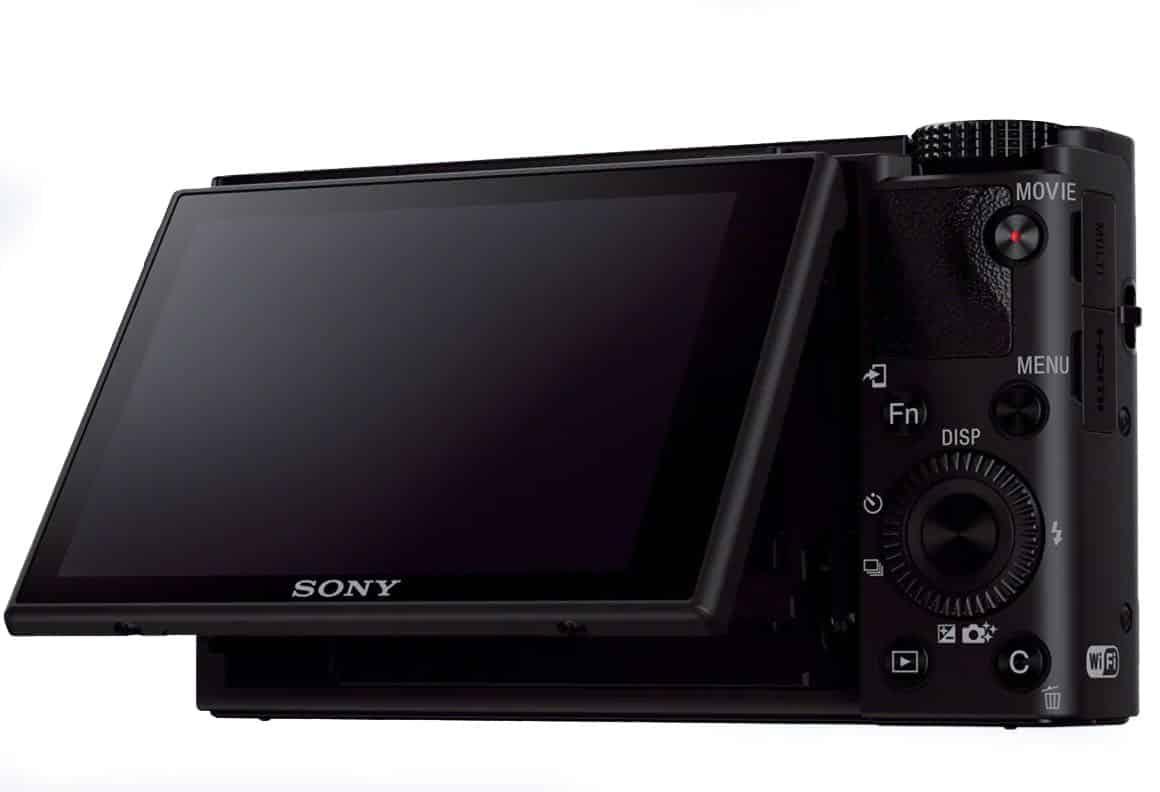Sony RX100 iii Rückseite