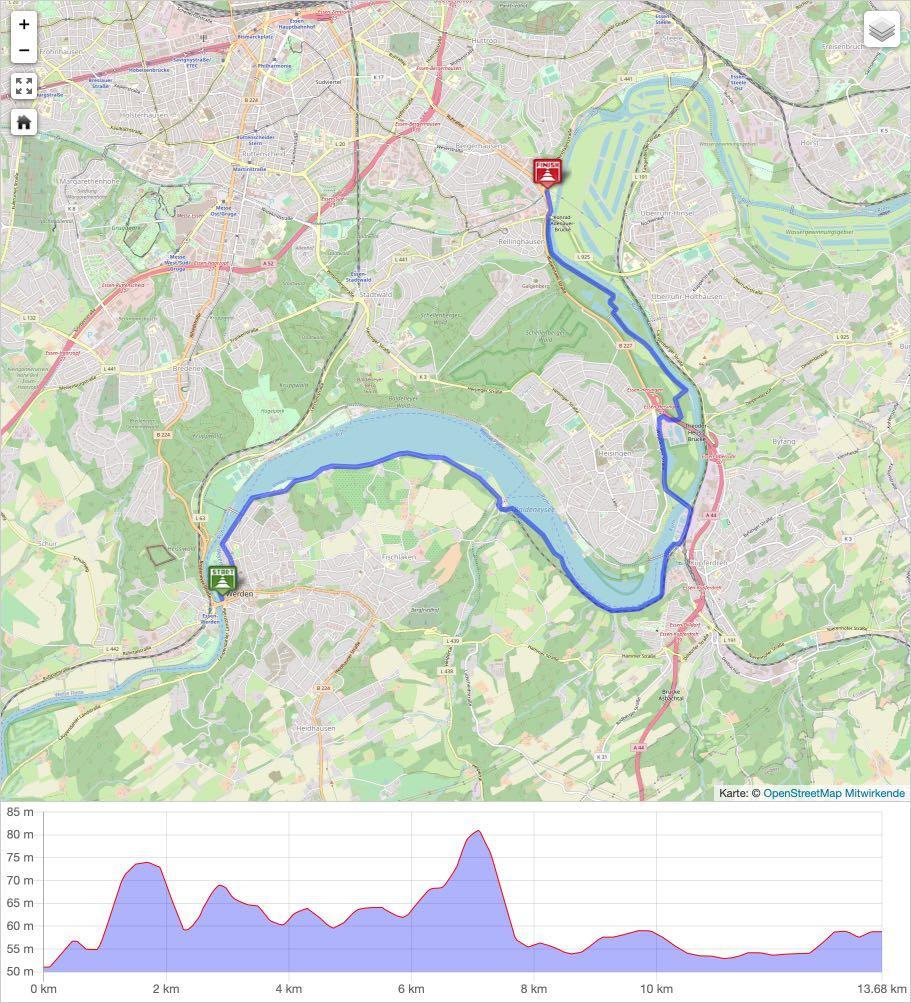 Ruhrtal Radweg 7 - Baldeneysee